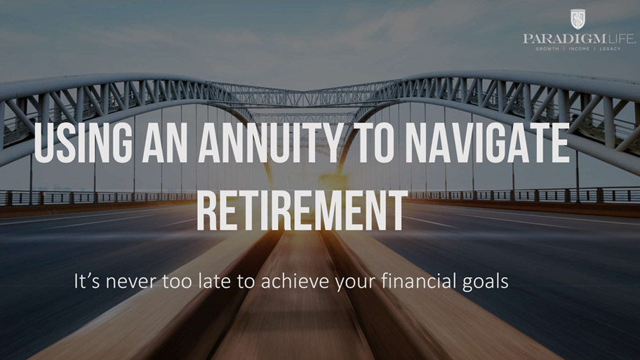 Using an Annuity to Navigate Retirement