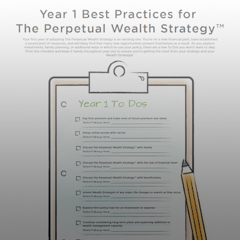 Year 1 Best Practices for The Perpetual Wealth Strategy